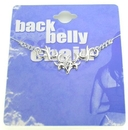 Painful Pleasures MN0208 Mask Back Belly Chain Pierceless Body Jewelry