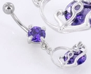 """Painful Pleasures MN1442 14g 7/16"""" LOVE Belly Button Pierced Jewelry"""