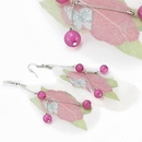 Painful Pleasures MN1653-pair Butterfly Design Feather Earrings - Price Per 2 Earrings