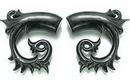 Elementals Organics ORG072 IVY Wholesale Organic Horn Hanger Wholesale Body Jewelry - Price Per 1