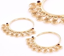 Elementals Organics ORG1011-pair 12g GOLD PLATED Indonesia Style Earrings - Price Per 2