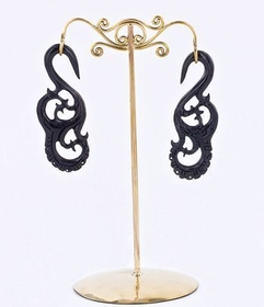 Bronze Earring - Organic Holder Display Stand # 1