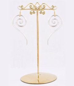 Bronze Earring - Organic Holder Display Stand # 2