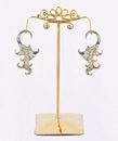 Painful Pleasures ORG1033 Bronze Earring - Hanger Organic Holder Display Stand # 6