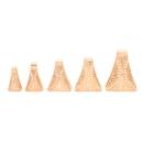 Elementals Organics ORG3116 Golden Rain Gold Plated Brass Ear Weight - 15mm-35mm - Price Per 1