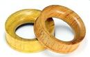 Elementals Organics ORG588 TEWEL Wood Tunnel - Organic Body Jewelry 6mm up to 51mm - Price Per 1