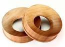 Elementals Organics ORG589 SABA Wood Tunnel - Organic Body Jewelry 6mm up to 51mm - Price Per 1