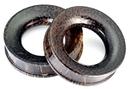 Elementals Organics ORG593 PALM Wood Tunnel - Organic Body Jewelry 6mm up to 51mm - Price Per 1