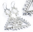 Elementals ORG924-pair DOGFUNK 18g - .925 Sterling Silver Hangers - Price Per 2
