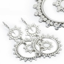 Elementals ORG927-pair CIRCLE CIRCLE 18g - .925 Sterling Silver Hangers - Price Per 2