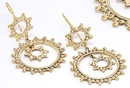 Painful Pleasures ORG928-pair 18g Bronze Indonesia CIRCLE CIRCLE Style Earrings - Price Per 2