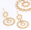 Painful Pleasures ORG929-pair 18g GOLD PLATED Circles Earrings - Price Per 2