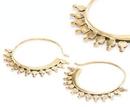 Elementals Organics ORG934-pair 18g Bronze FISMO Style Earrings - Price Per 2