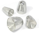 "Pierced Tools PT-020-Big Stainless Steel Large Body Piercing Taper - 1 1/4"" -  2""  - Price Per Taper"