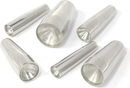 "Pierced Tools PT-020-Medium Stainless Steel Medium Taper - 7/16"" -  1"" - Price Per Taper"