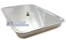 Pierced Tools PT-500 Medical Piercing Tattoo Rectangle Stainless Steel Tray with Cover