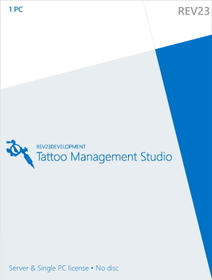 Painful Pleasures REV23-license Tattoo Management Studio - Studio Software To Simplify And Manage Your Studio