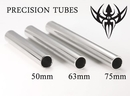 Painful Pleasures TAT-043 Stainless Steel Tattoo Tube/Back Stem - 75mm (3'') - Tattoo Supplies