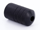 "Precision TAT-421 Lightweight Autoclavable Ballistic Plastic 1"" Black Tattoo Grip - Type 7"