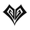 """Painful Pleasures TAT-924 Tribal Hearts #2 Temporary Tatto -1.5""""X1.5"""""""
