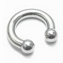 Painful Pleasures UR317-6g-internal 6g Stainless Steel Circular Barbell - Internally Threaded