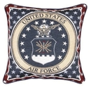 Simply Home Air Force Pillow (P3148)
