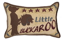 Simply Home Little Buckaroo Small Tapestry Pillow (P80-990)