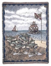 Simply Home Maryland Blue Crab Tapestry Throw (RTP007835)