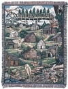 Simply Home Cades Cove, Tennessee Tapestry Throw (RTP029929)