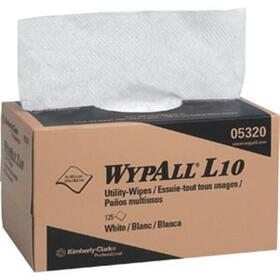 "Wypall L10 Wipers, 9"" x 10.5"""