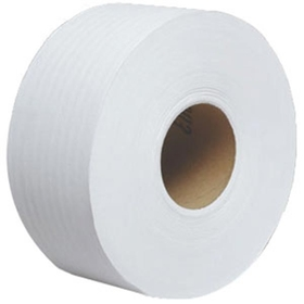 Scott Jumbo Roll Tissue, 2-Ply, White, 12 Rolls/1000 ea