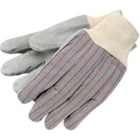 Clute Pattern Gloves w/Knit Wrist, Select Grade Lined Palm, Large