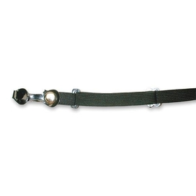 Black Adjustable Elastic Eyeglass Strap