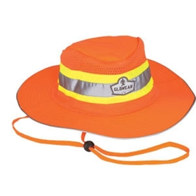 Glowear 8935 Class Headwear Ranger Hat,  Orange, S / M