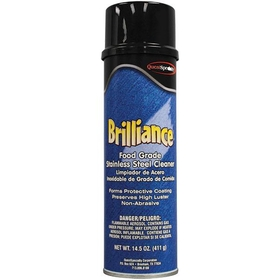 Brilliance Oil-Based Stainless Steel Cleaner, (12) 20 oz. Aerosol Cans
