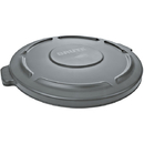 Rubbermaid Brute Container Lid, 32 gal, Gray
