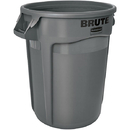 Rubbermaid Brute Utility Waste Container, 32 gal, Gray
