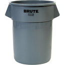 Rubbermaid Brute Utility Waste Container, 55 gal Gray