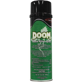 Doom 2, 4-D Solvent-Based Weed Killer, (12) 20 oz. Aerosol Cans