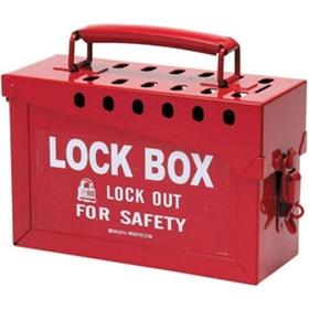 Group Lock Box, Red