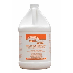 Thick N' Sudsy Pink Lotion Hand Soap, (4) 1 Gallon Bottles