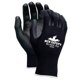 Value Series PU Nylon/Polyurethane Gloves, Medium