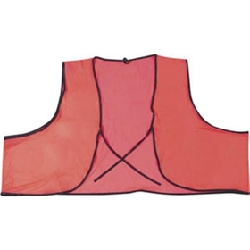 PVC .10mm, General Purpose, Orange Safety Vest