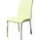 Pastel Furniture JU-110-CH-978 Judith Side Chair In Pu Ivory, Fabric, #978-Pu Ivory