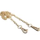 TopTie Golden Chain Strap For Handbag, Hook Replacement Purse Straps