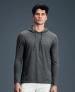 Anvil A987 Lightweight L/S Hooded Tee