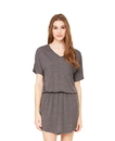 Bella + Canvas B8812 Women's Flowy V-Neck Dress
