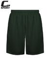 Badger Sport BG5237 C2 Mock Yth Mesh Shorts