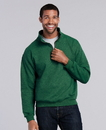 Gildan 18800 Heavy Blend Adult Vintage Classic 1/4 Zip Cadet Collar Sweatshirt