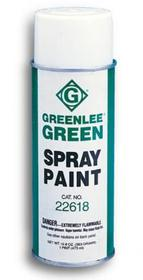 Greenlee 10378 13 oz. (384 ml) Aerosol Can of Greenlee Flat Green Spray Paint, Price/1 EACH